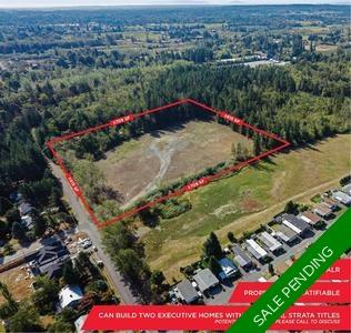 Campbell Valley Residential Land for sale:    (Listed 2019-06-15)